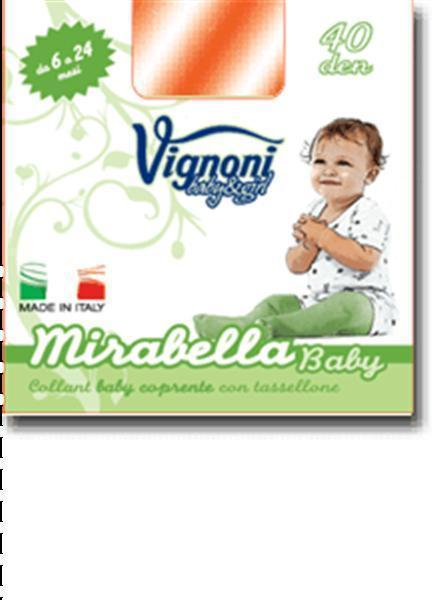 COLL.MIRABELLA BABY 40 DEN.NEW POLIAMMIDE