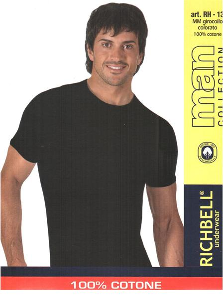 MAGLIE UOMO MM GIR.RICHBELL COL.COTONE RH13